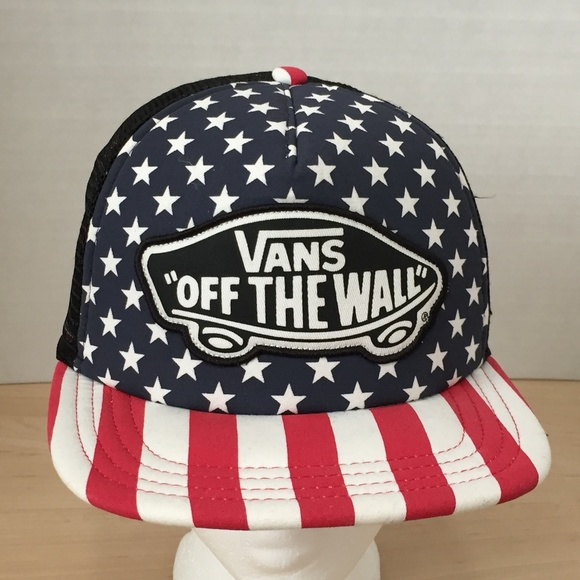 99100940eb14a Vans Accessories | Off The Wall Mesh Trucker Hat | Poshmark